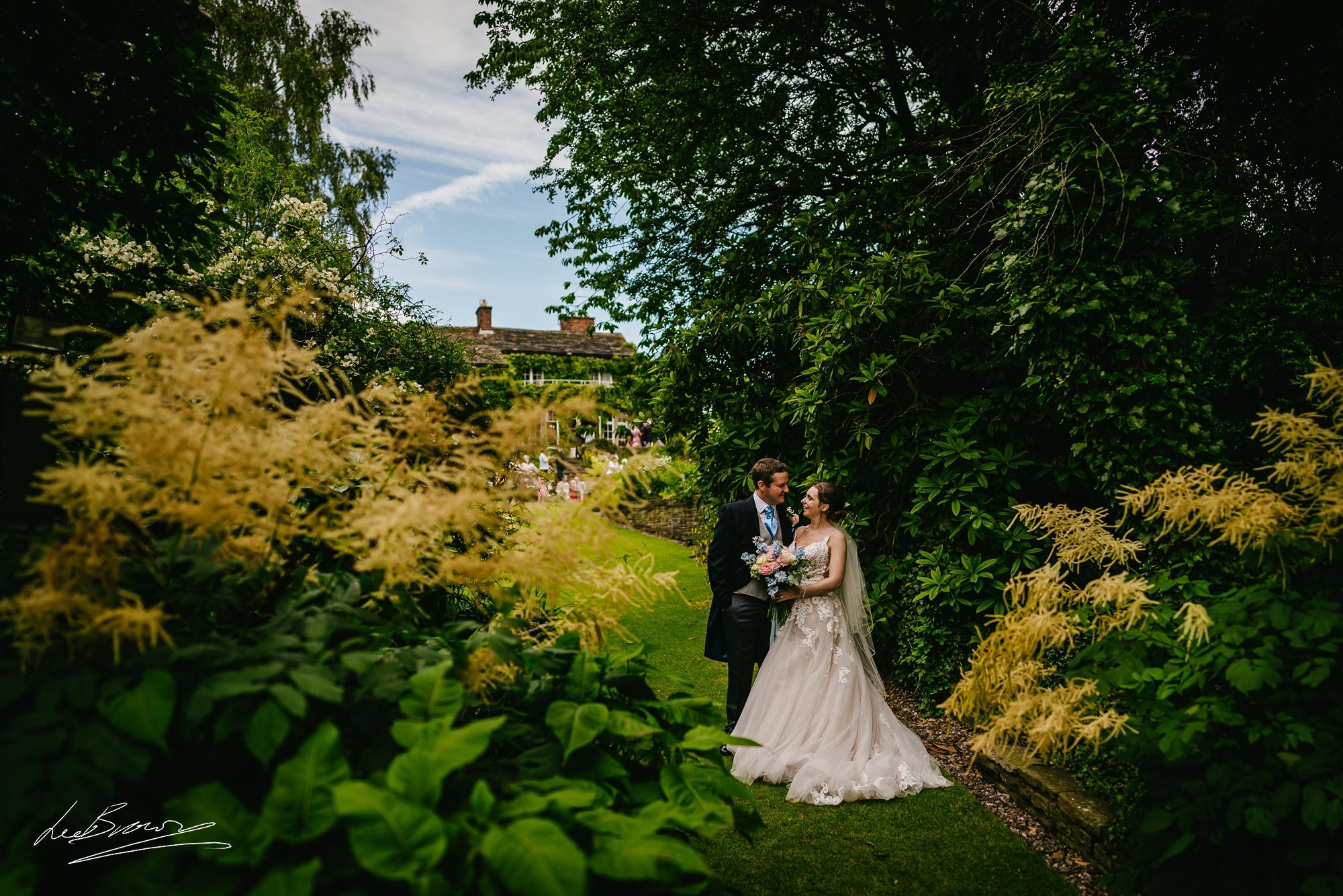 Hilltop Country House Wedding Photography – Megan & Paul