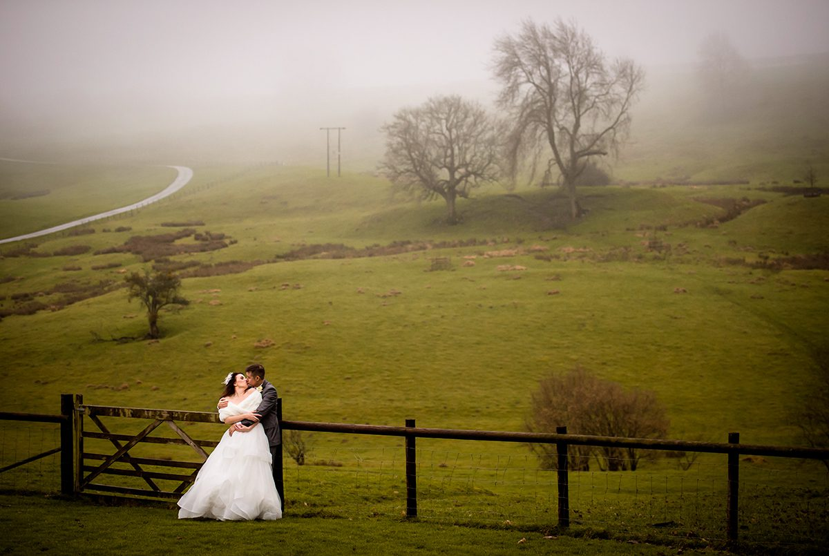 Misty, atmospheric weather adds to the magic
