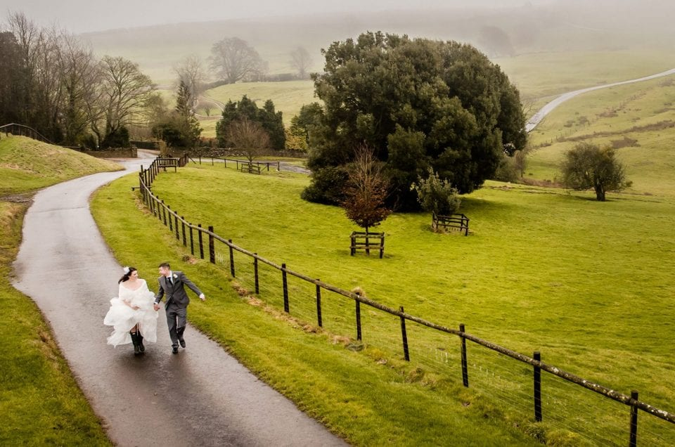 Kingscote Barn: One Of The Best Alternative Venues For Wedding Photography in Gloucestershire