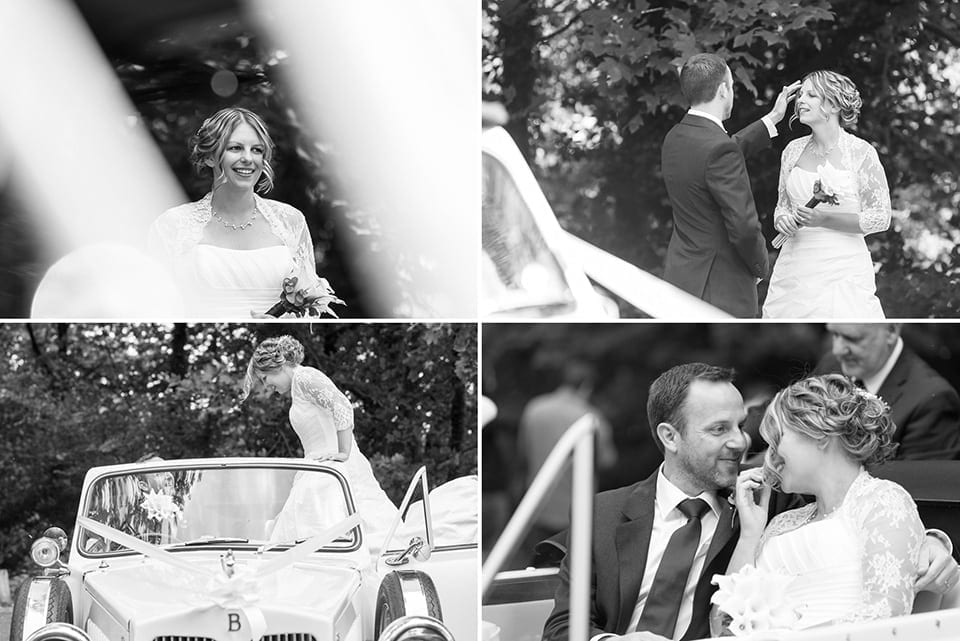 Bride and groom, Castell Coch wedding photographer