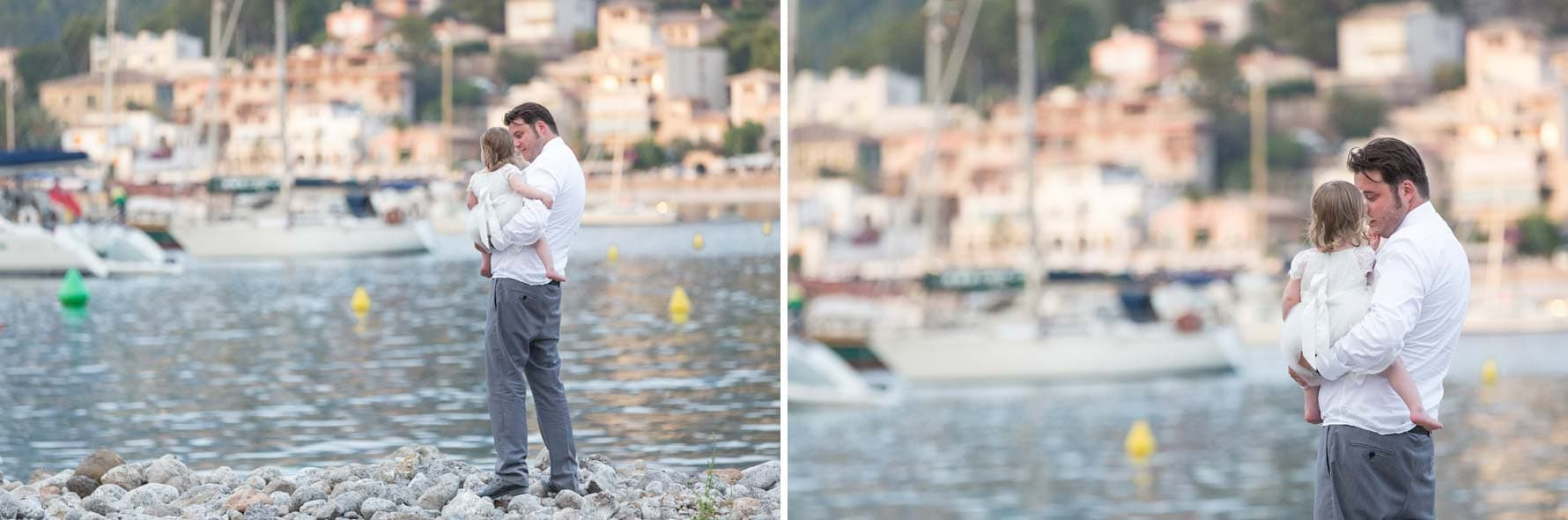 Moments by the sea by Mallorca wedding photographer in Port de Soller