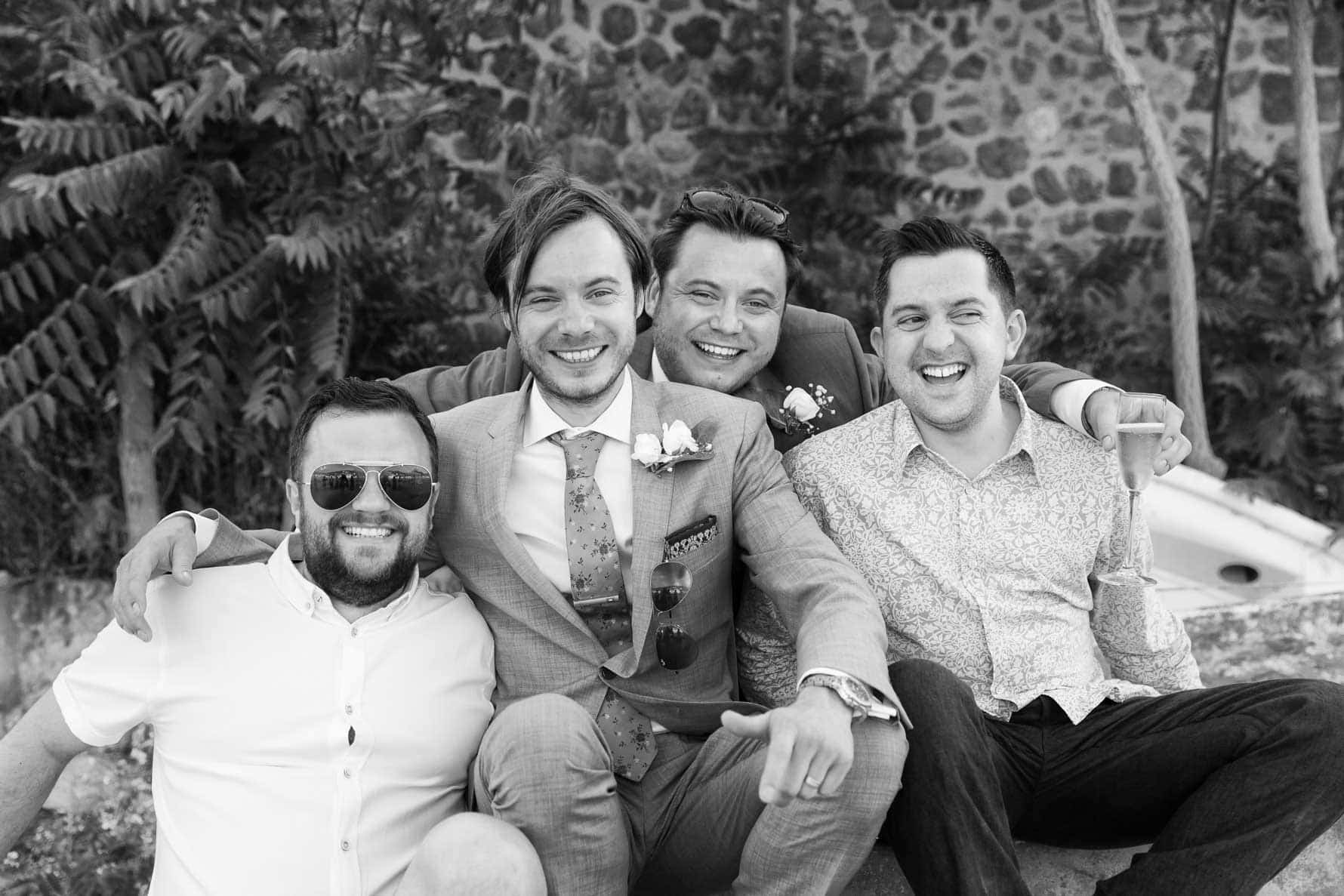 """The boys"" by Mallorca wedding photographer in Port de Soller"