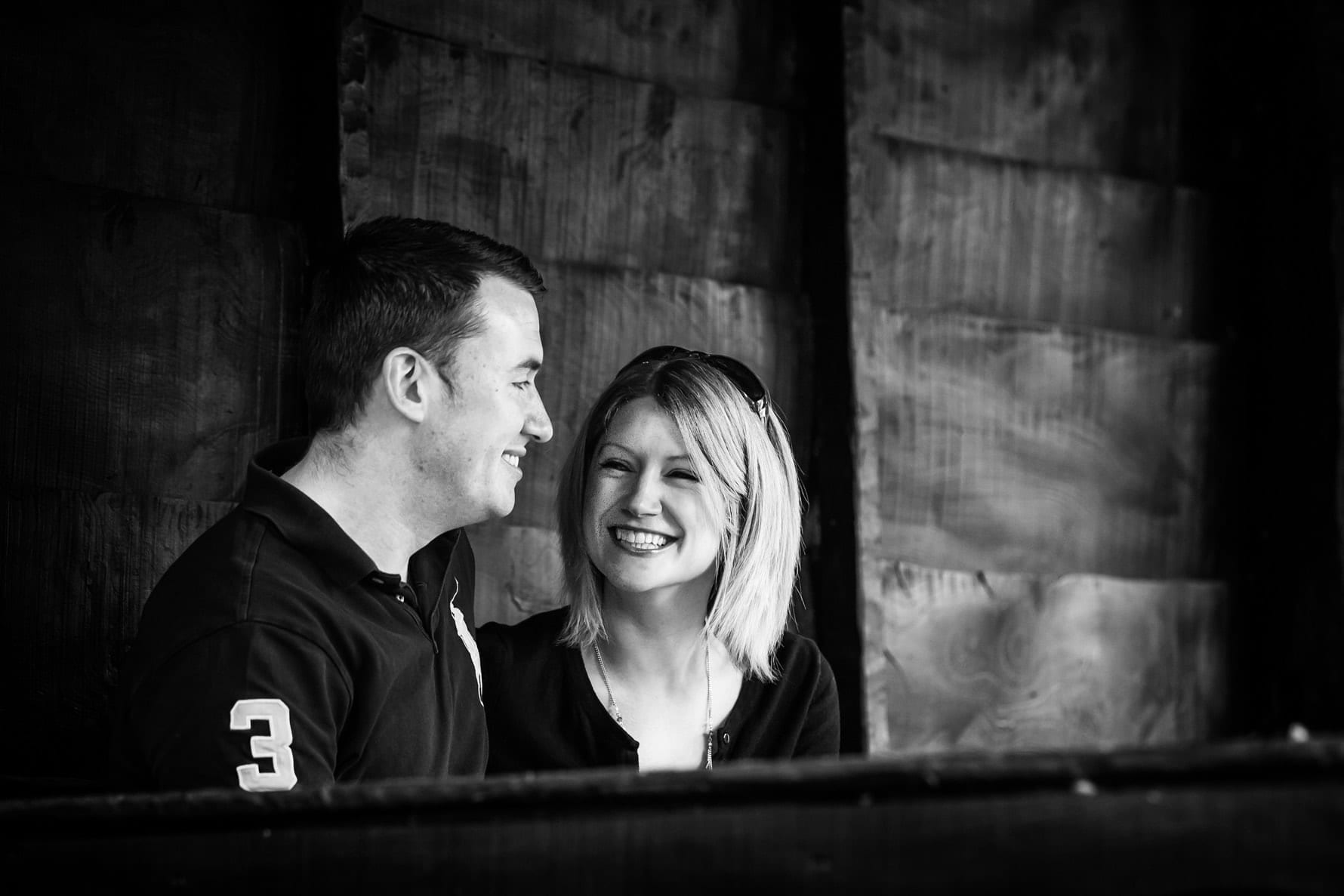 Katie & Dan engagement photoshoot by Hertfordshire wedding photographer