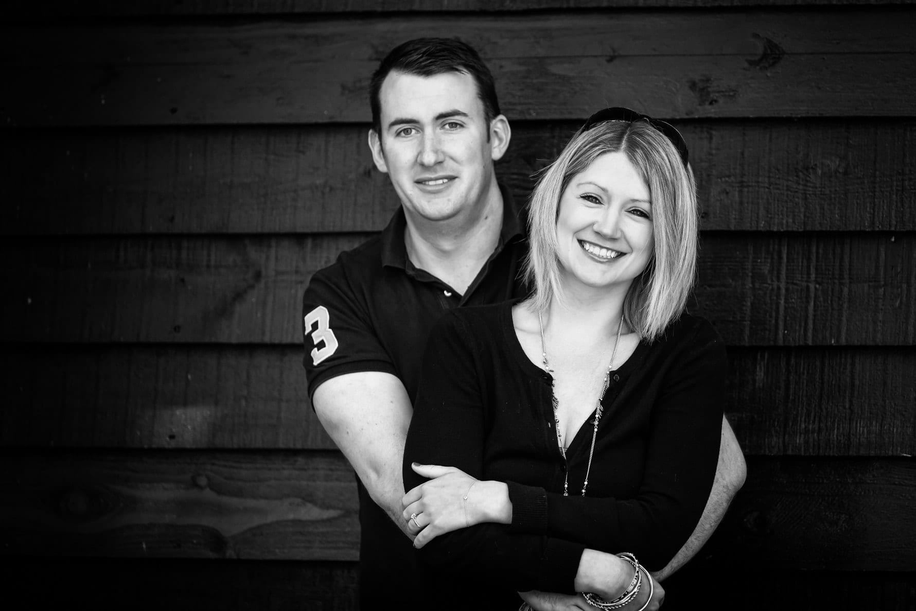 Engagement photoshoot by Hertfordshire wedding photographer