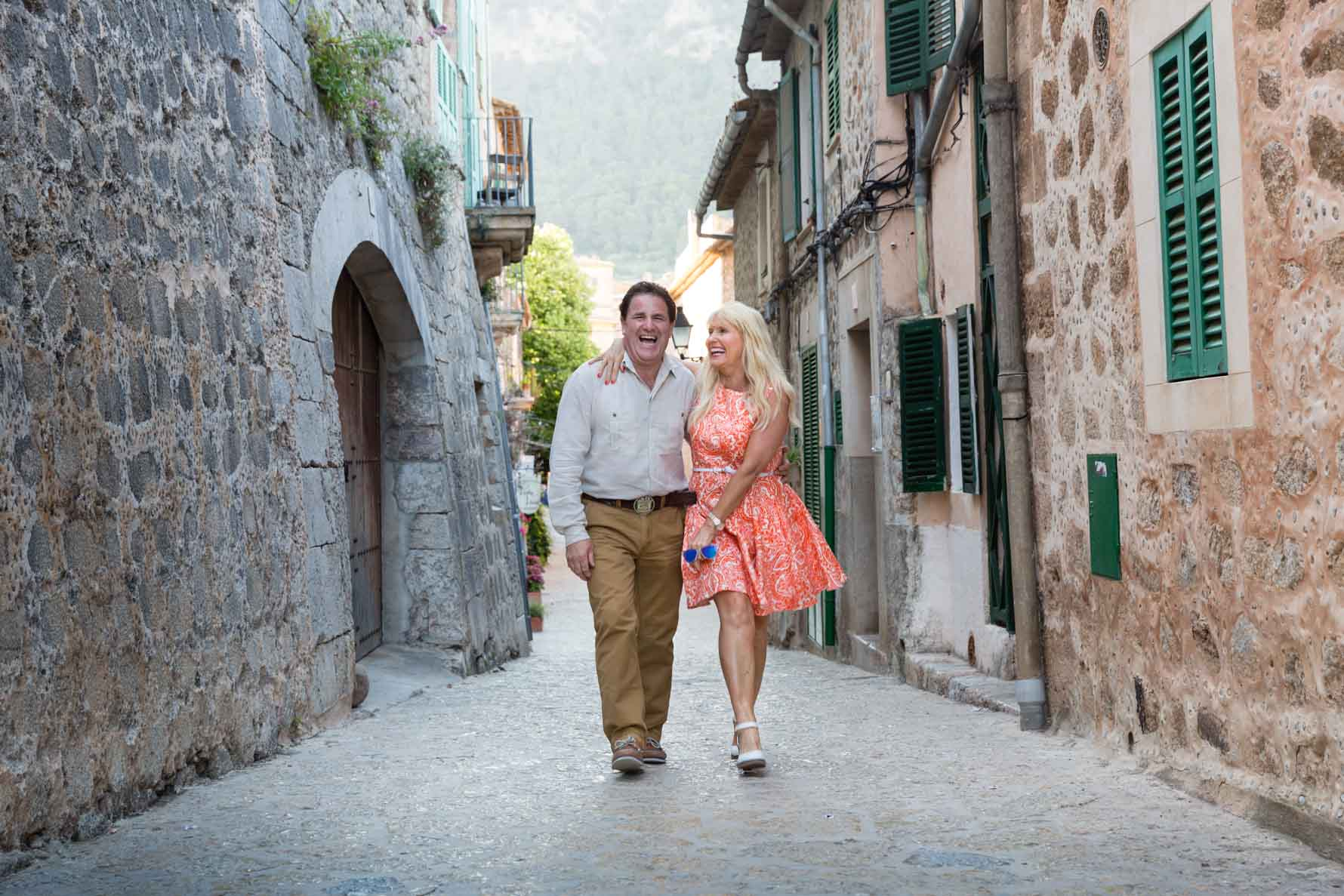 In love in Valldemossa