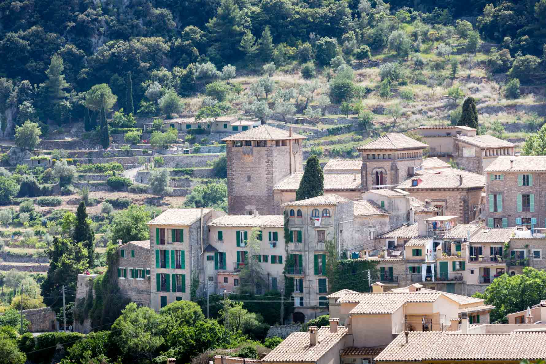 Beautiful Valldemossa in Mallorca