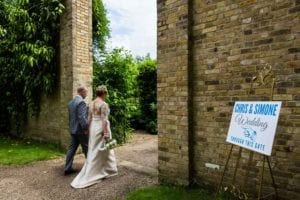 An Emotional Hanbury Manor Wedding In The Beautiful Walled Garden