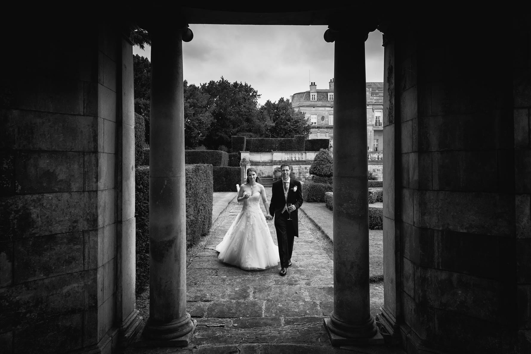 Bedfordshire wedding in the gardens of Luton Hoo Hotel