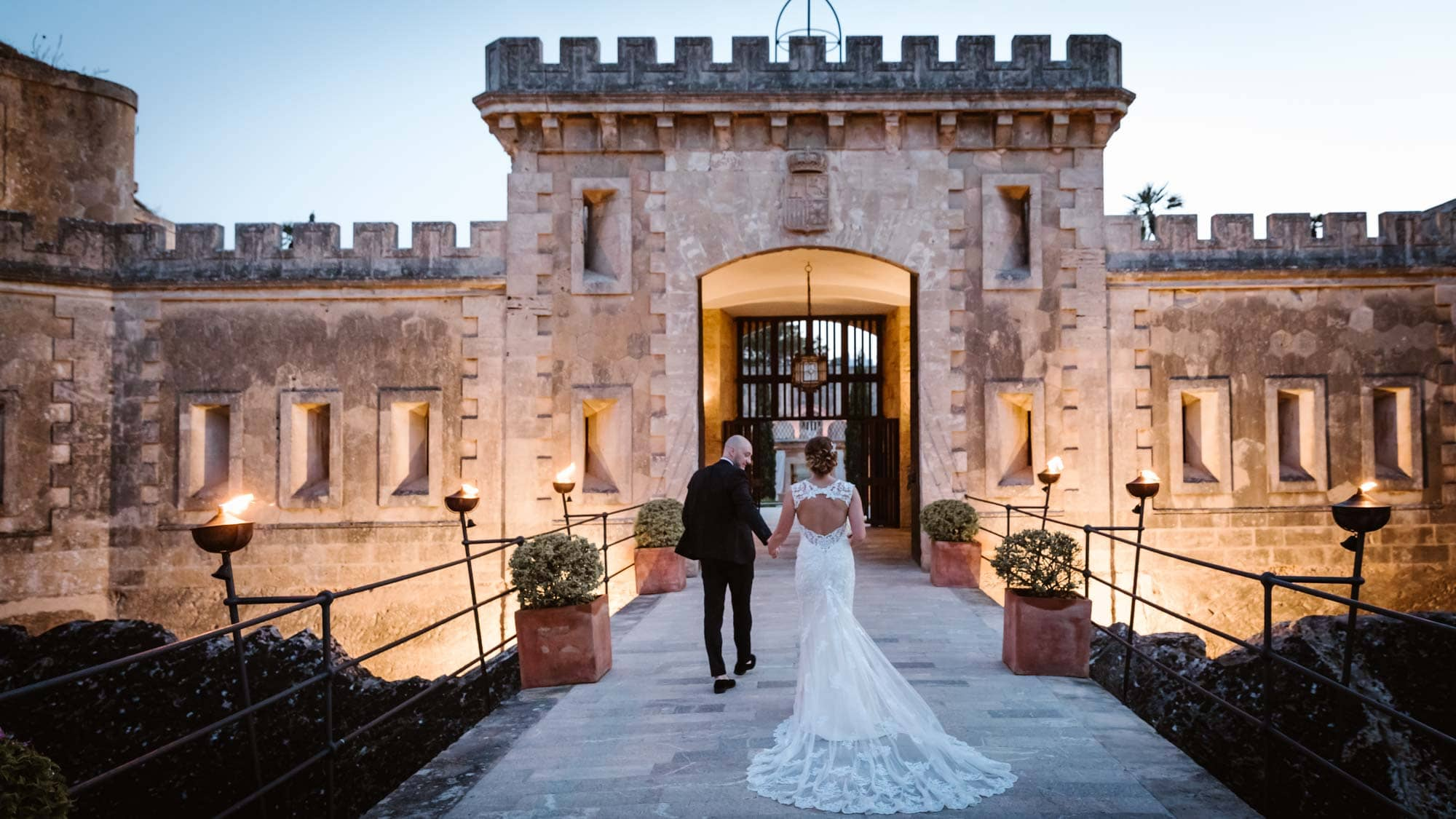 Cap Rocat is one of the most special Mallorca wedding venues on the beautiful island of Mallorca