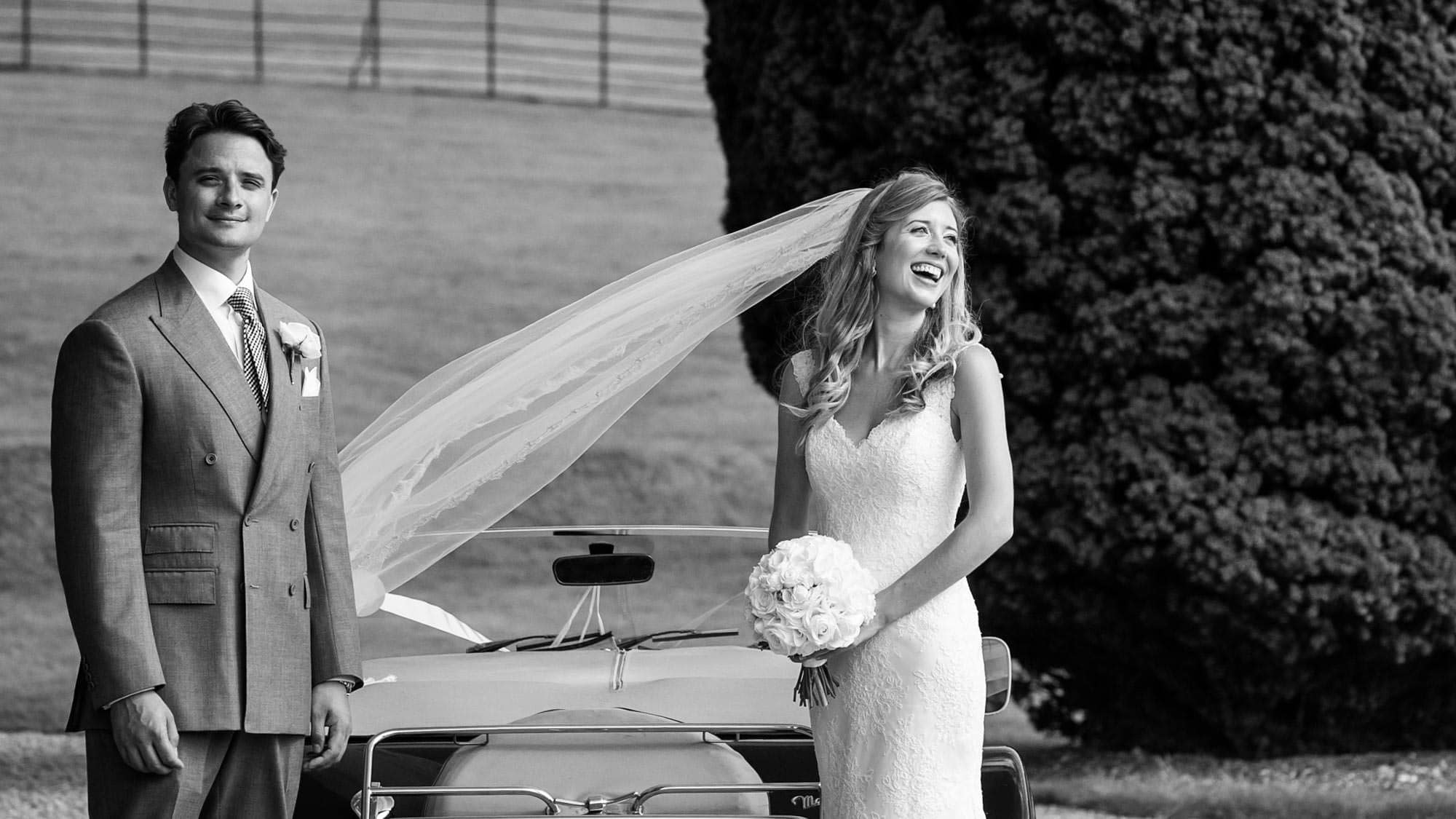 Beautiful bride and groom at St Audries Park wedding