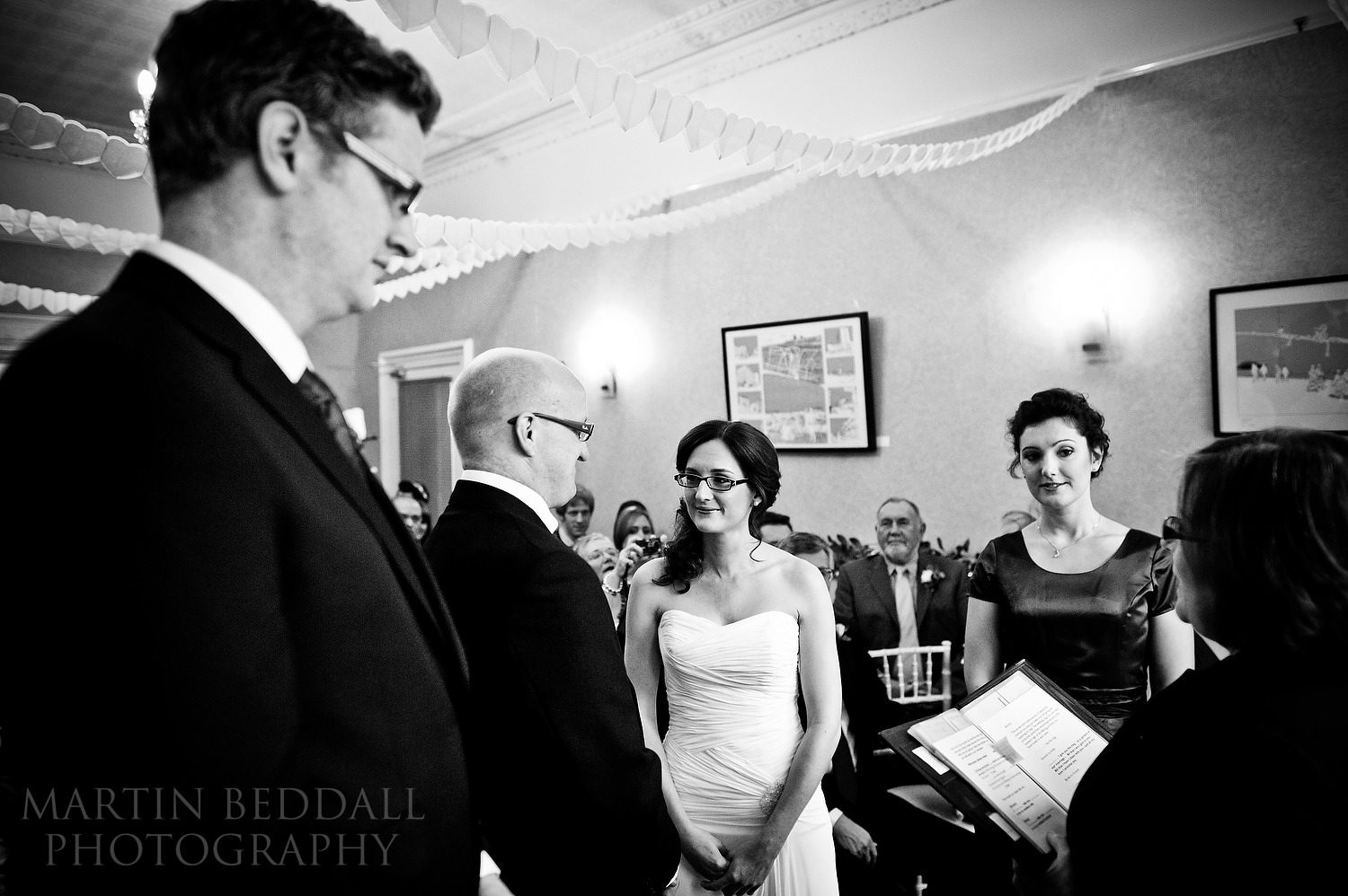 Hove wedding ceremony at The Claremont Hotel