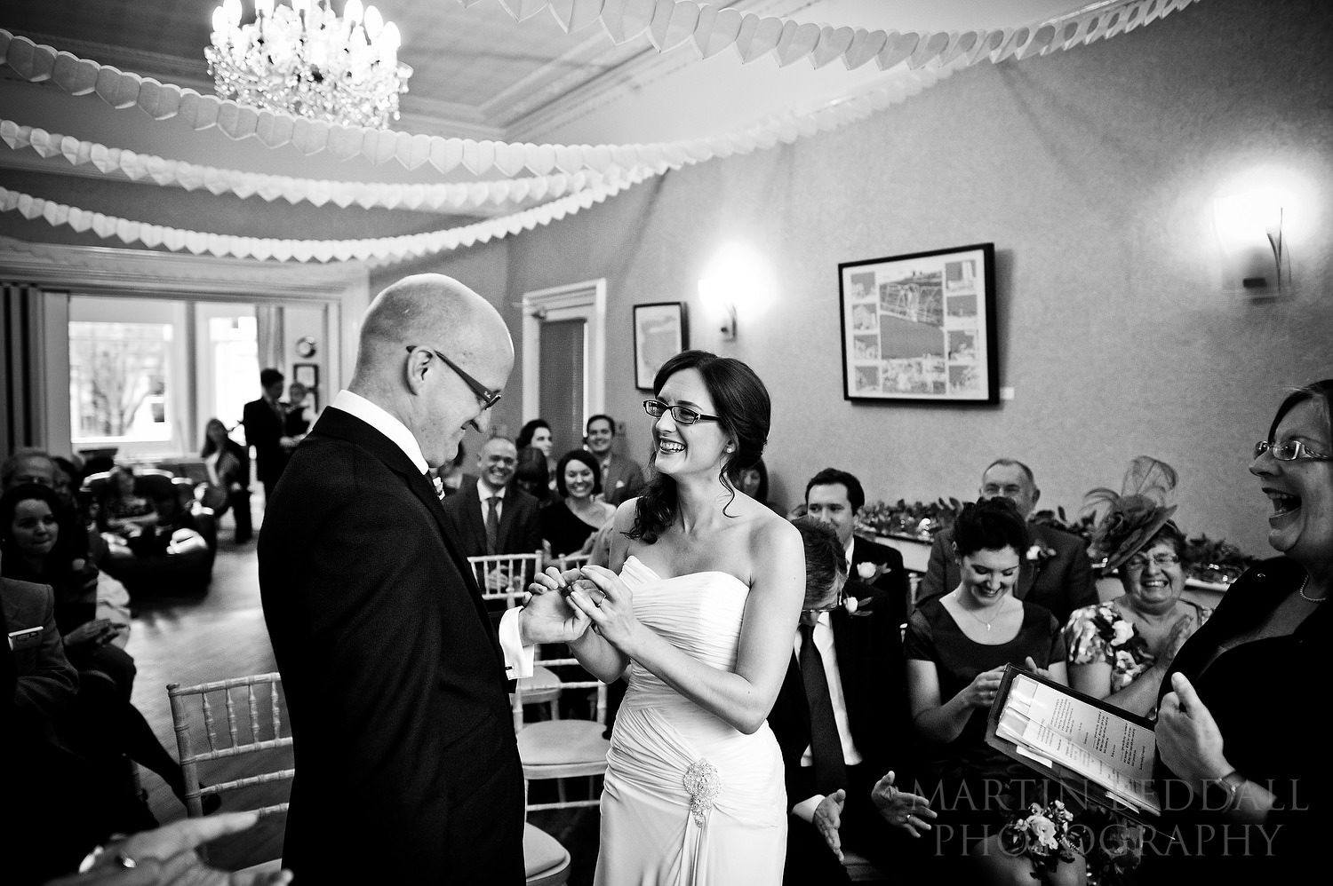 Wedding ceremony at The Claremont Hotel