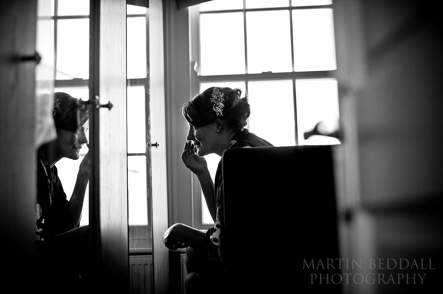 London bride getting ready Wedding photography in 2011
