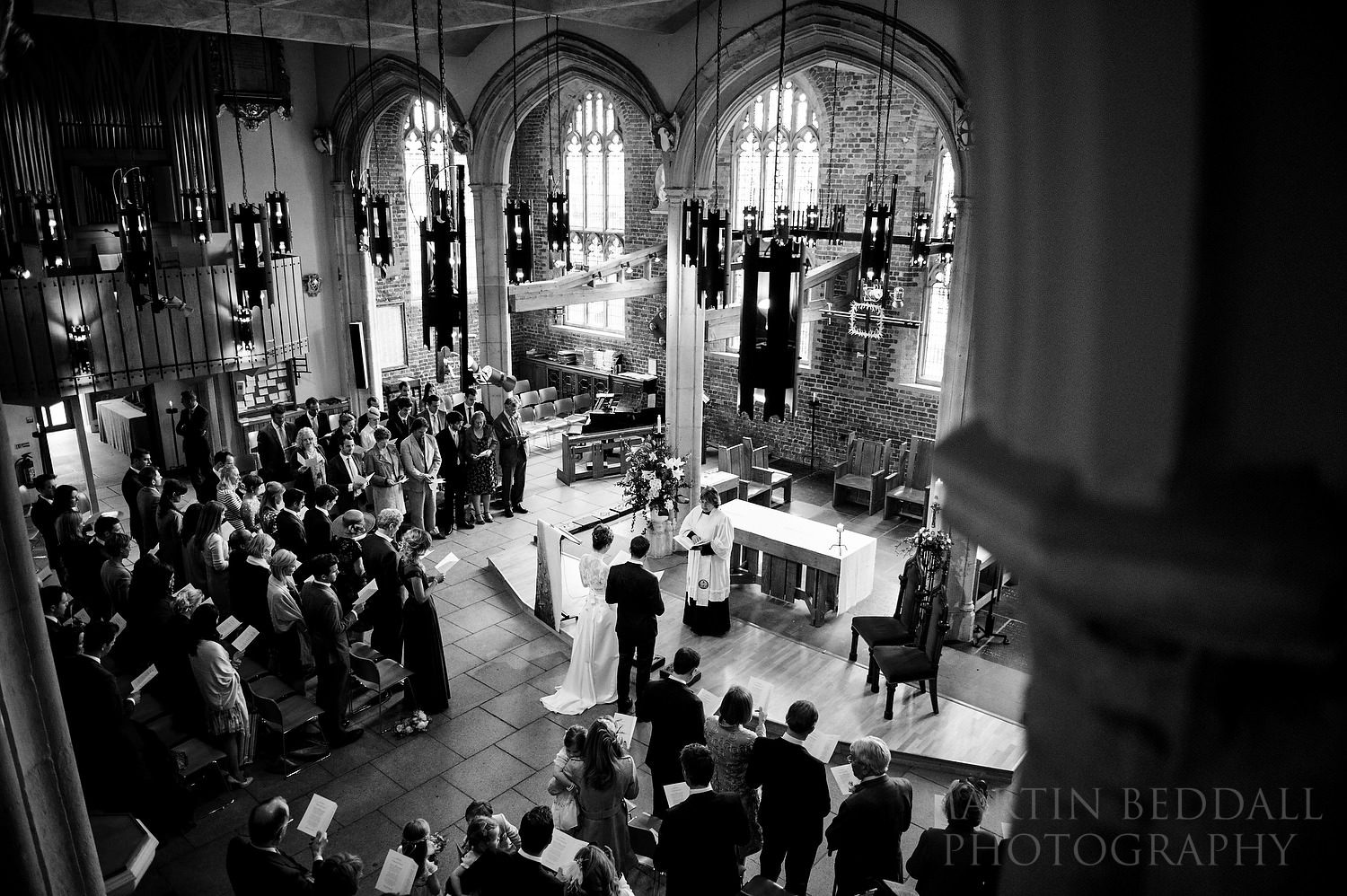 Wedding at St Mary the Virgin church in Putney