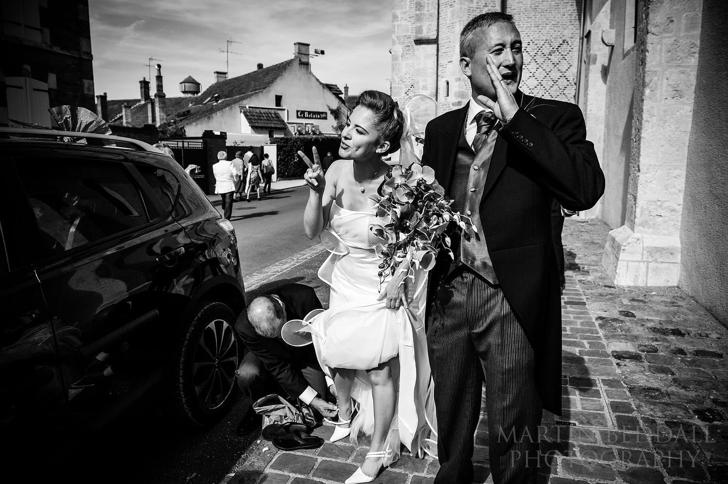 Wedding photography in 2012 in France