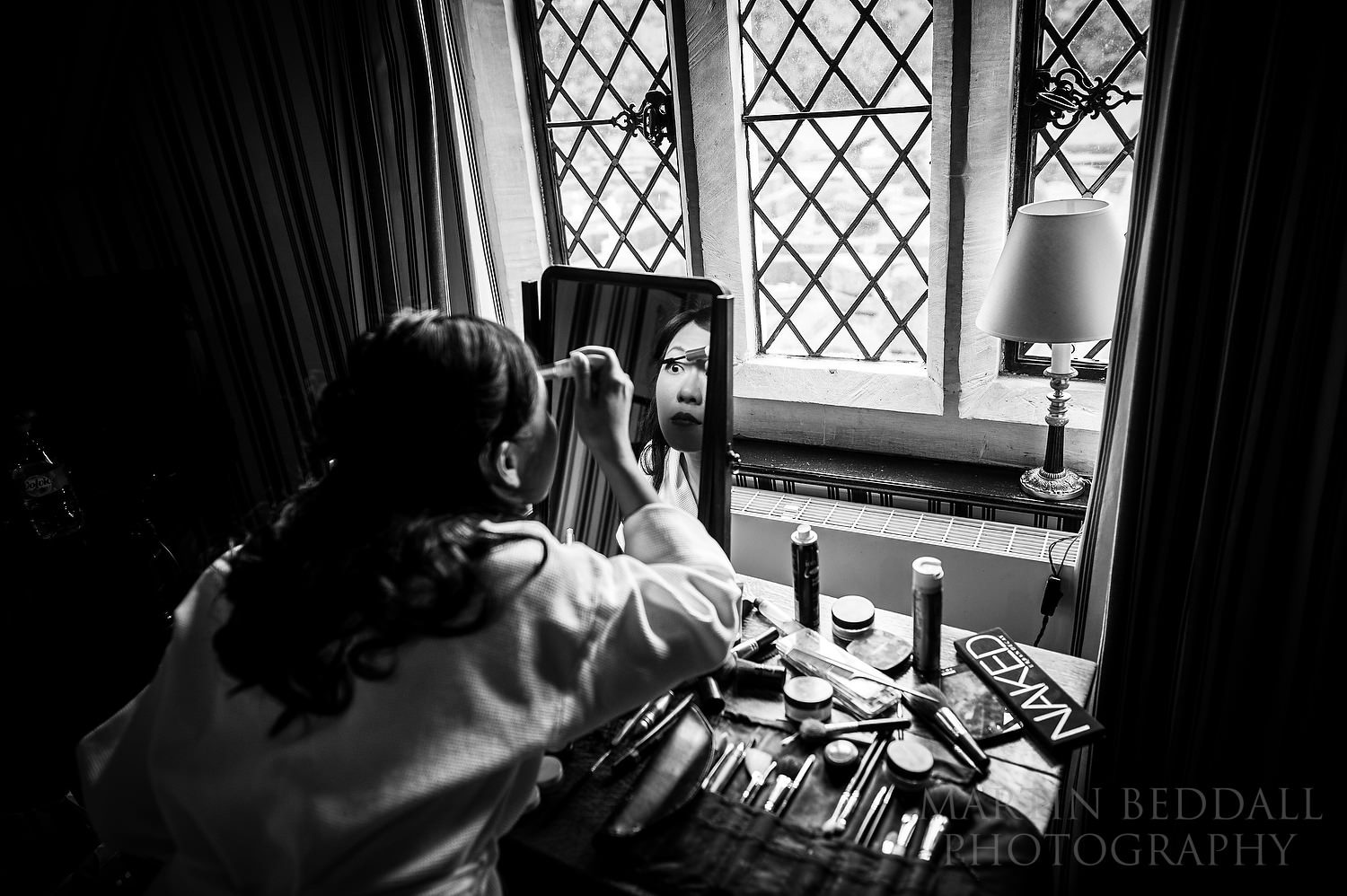 Eye makeup at Great Fosters