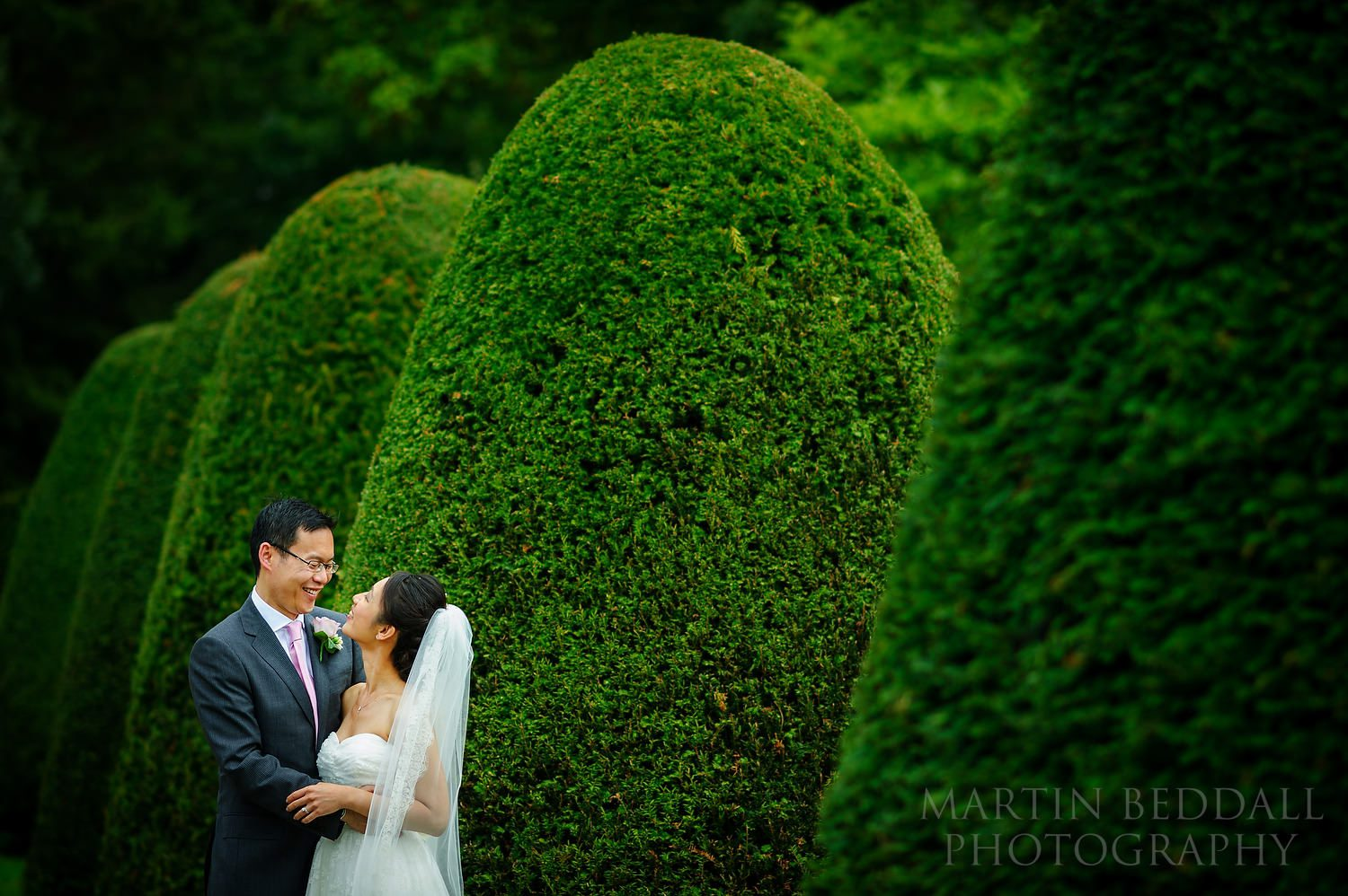 Couple portrait at Great Fosters
