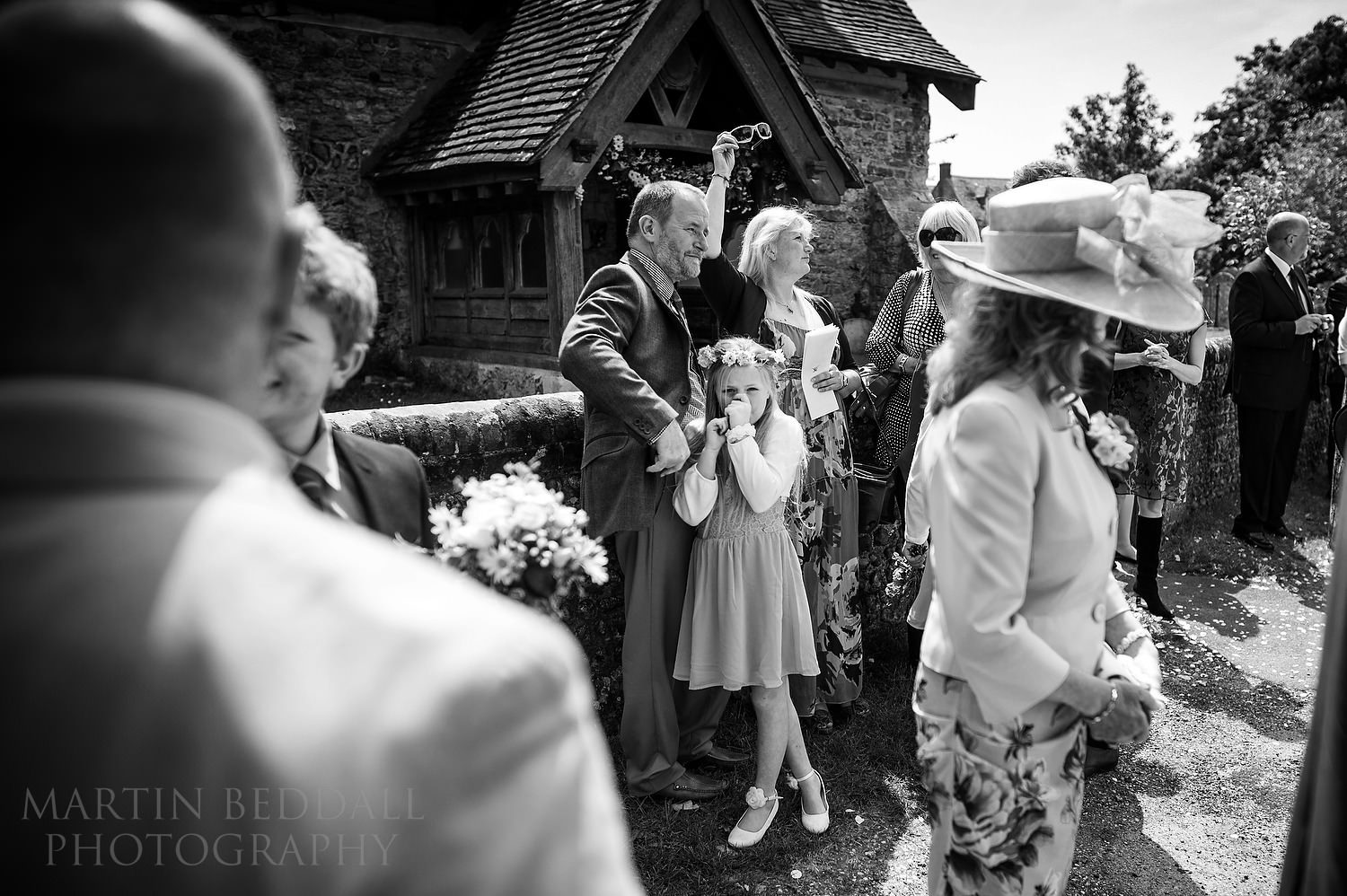 Reportage photography at Sussex wedding