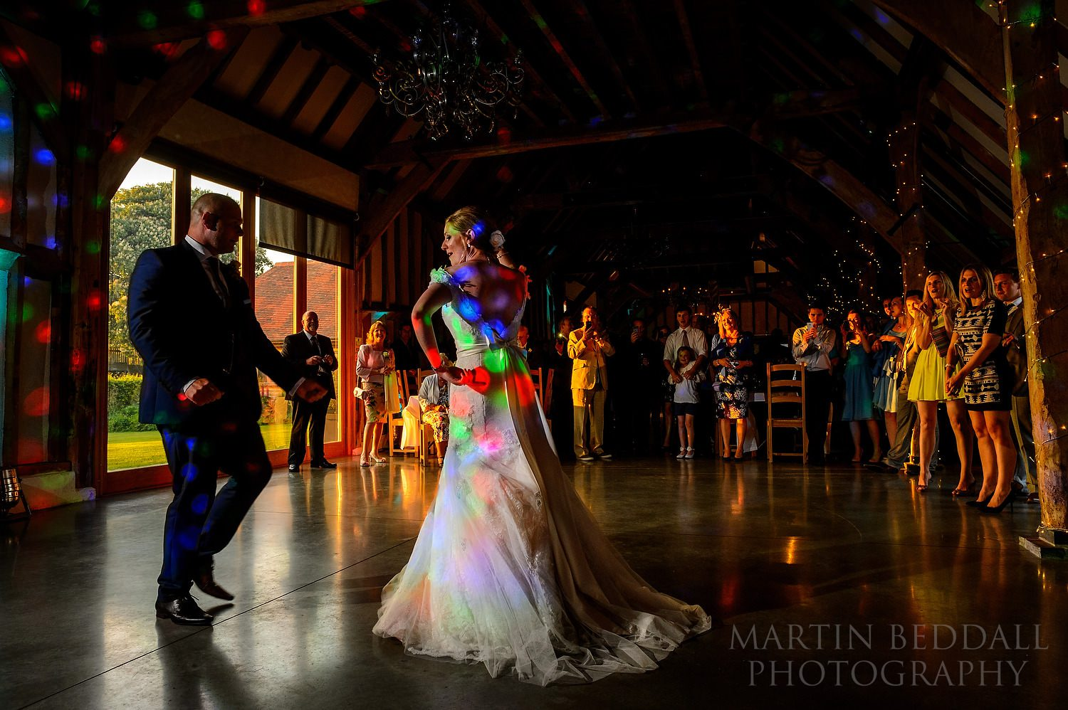 First dance at Southend Barns