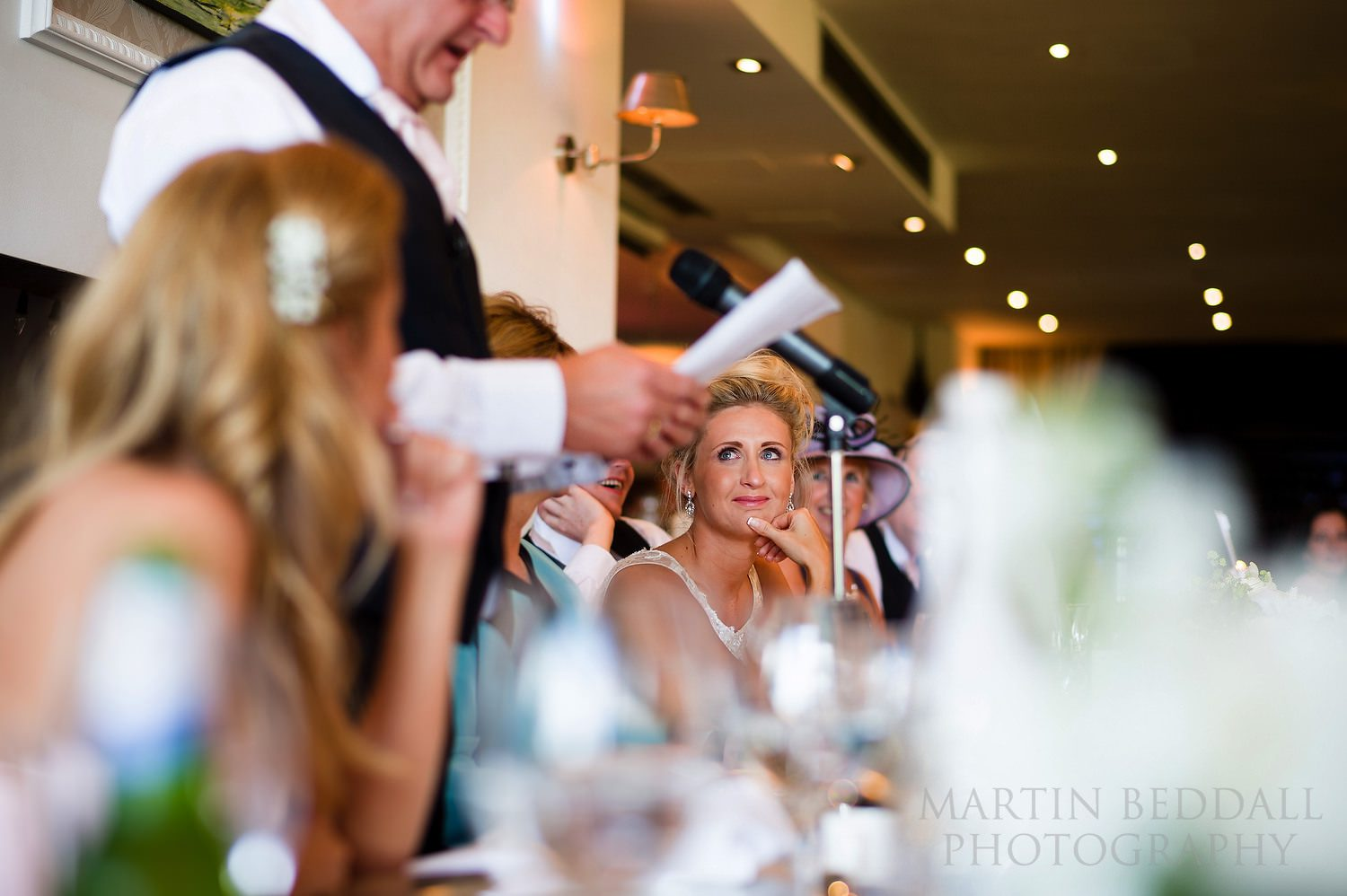 Speeches at Russets wedding