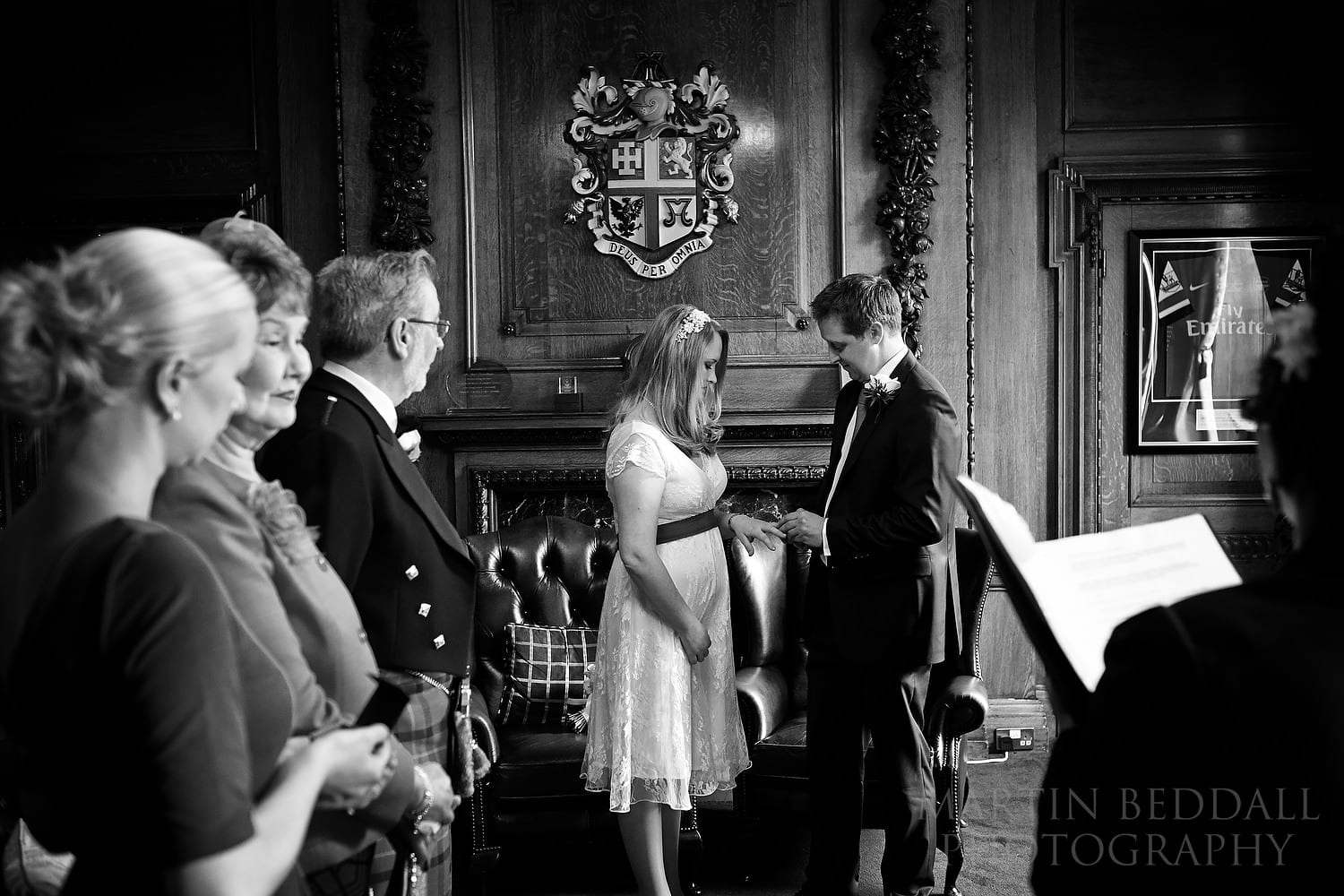 Mayor's Parlour wedding ceremony at Islington Town Hall in London