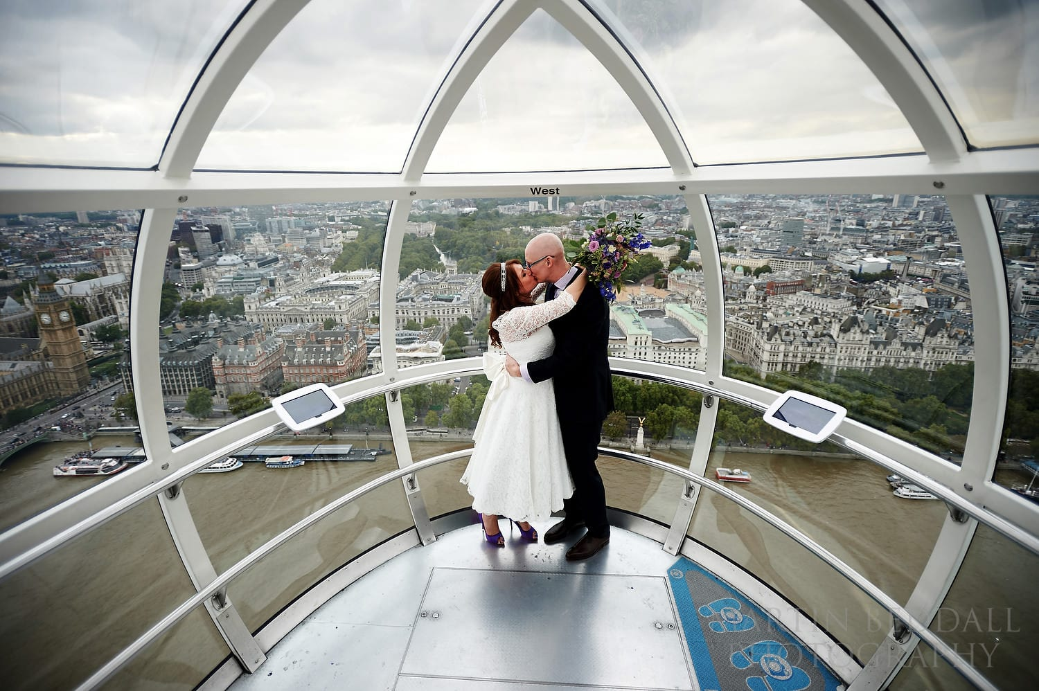 London Eye wedding