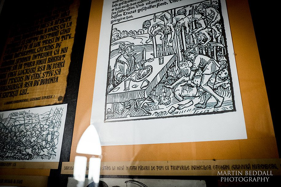 Vlad the Implare, the infamous Saxon woodcut.