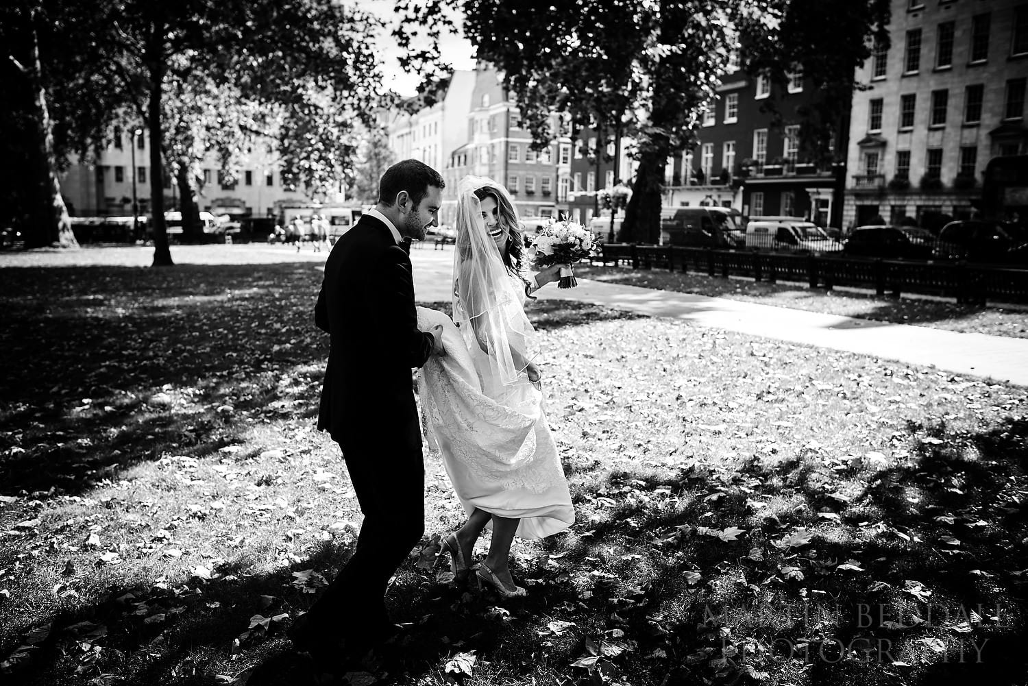 London wedding near Berkeley Square