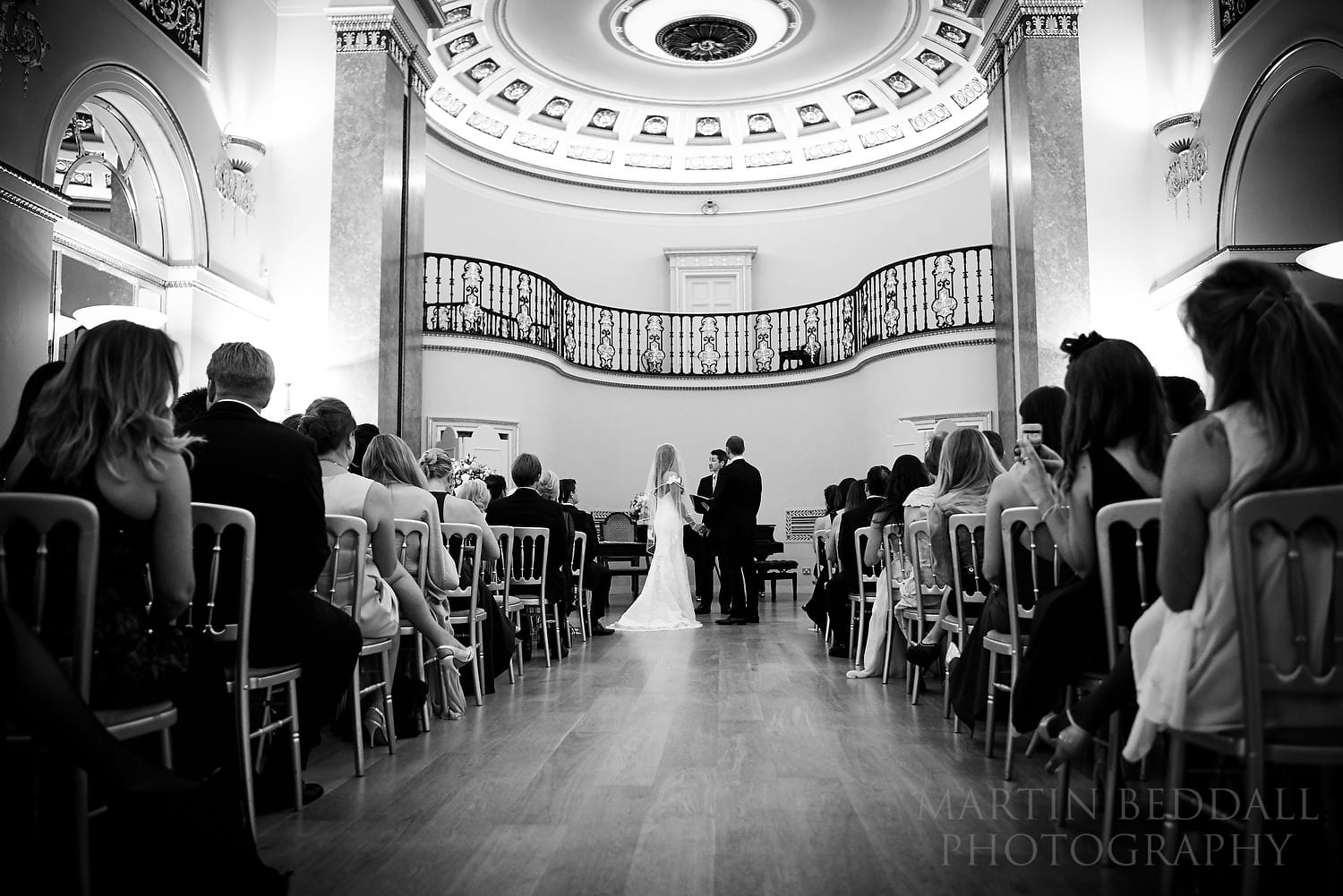 Lansdowne Club wedding  ceremony