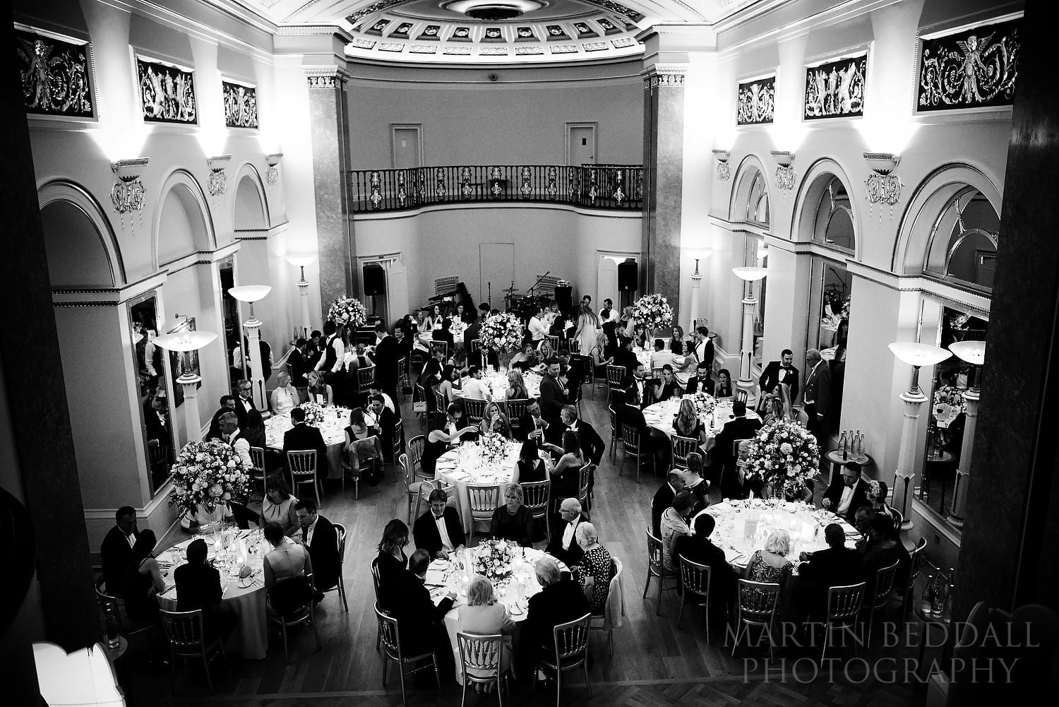 Wedding dinner the Lansdowne Club in London