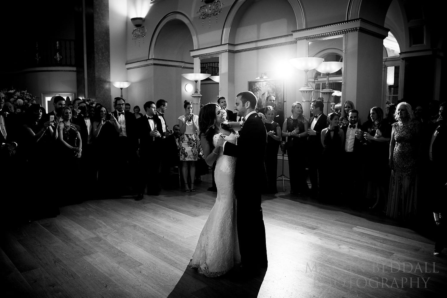 Lansdowne Club wedding first dance