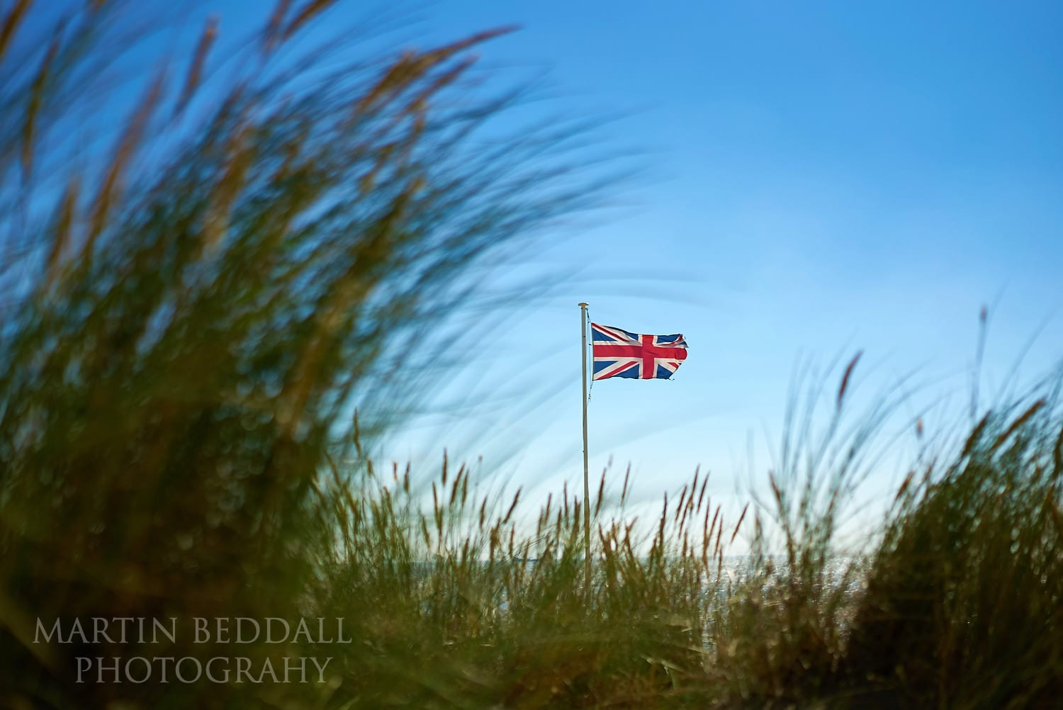 Flag on Camber Sands