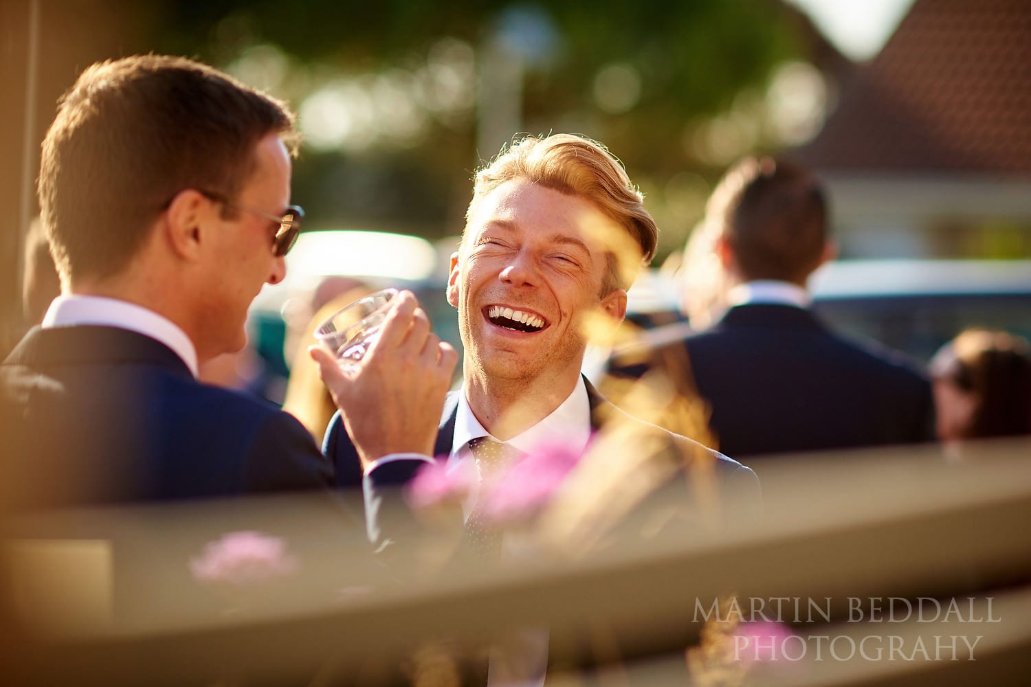 Laughter in the sunshine