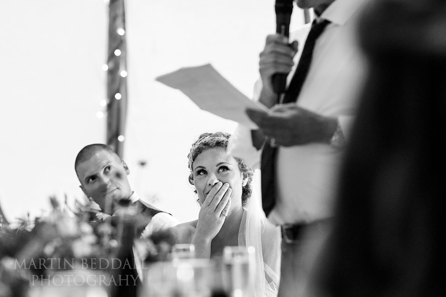 Father of the bride speech at Chafford Park wedding