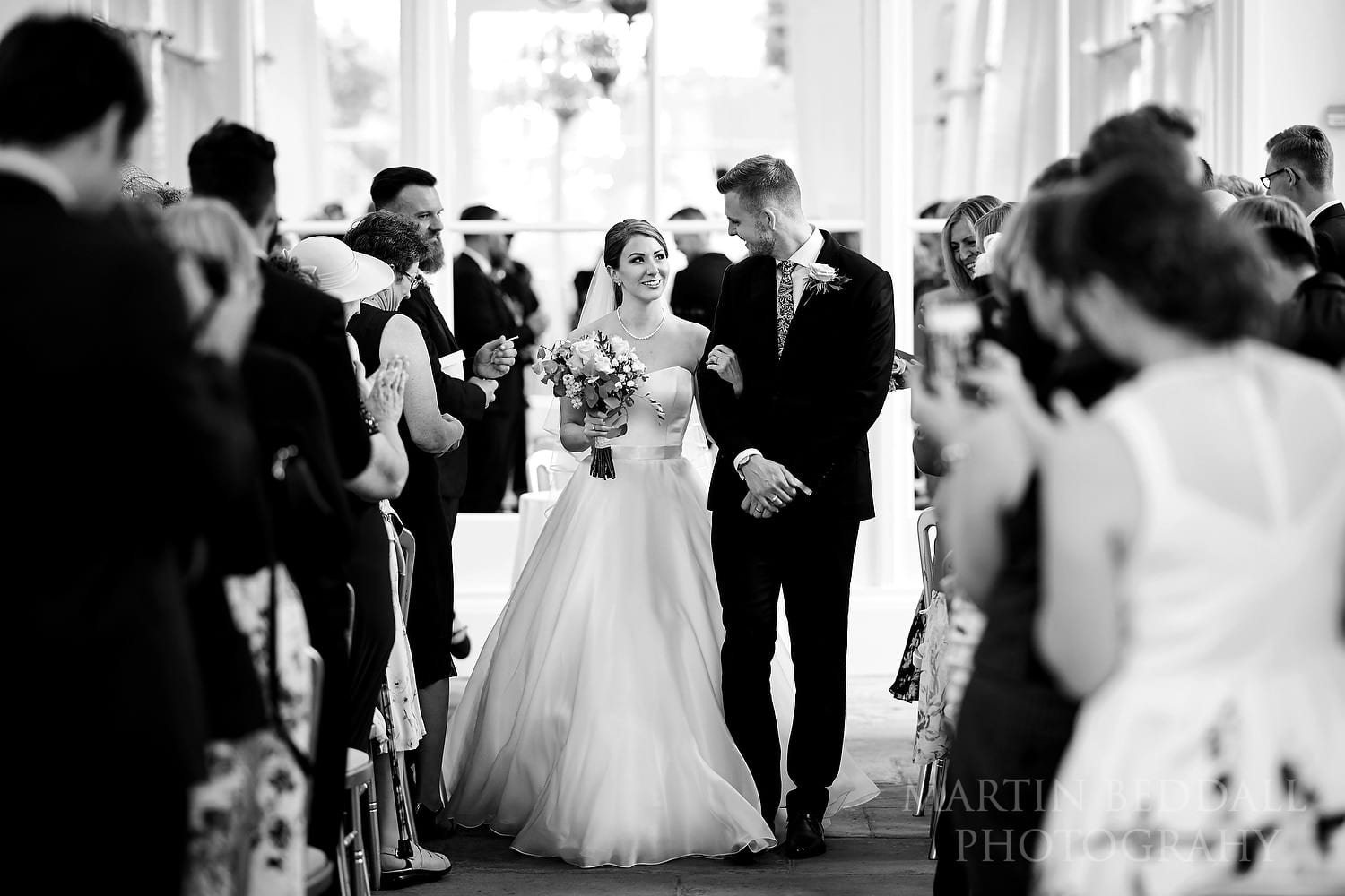 Orangery wedding photography