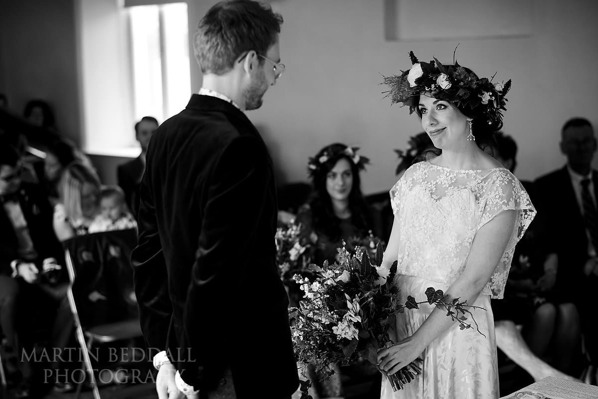 Wedding ceremony at the Anteros Arts Foundation in Norwich