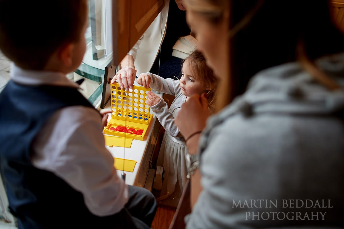Games for the kids at Anteros wedding