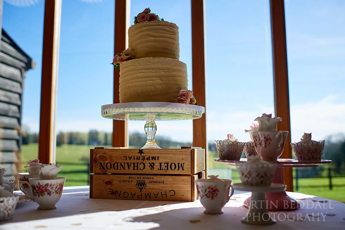 Wedding cake at Coltsfoot Country Retreat