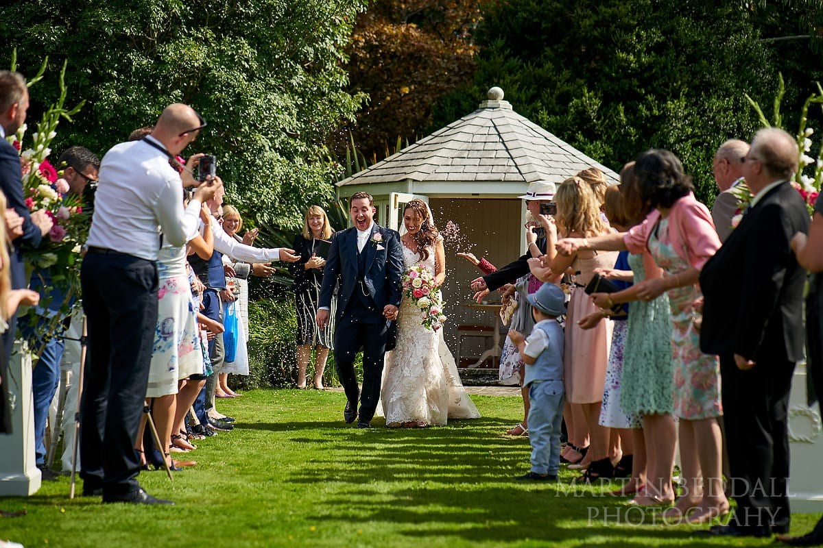 Horsted Place confetti