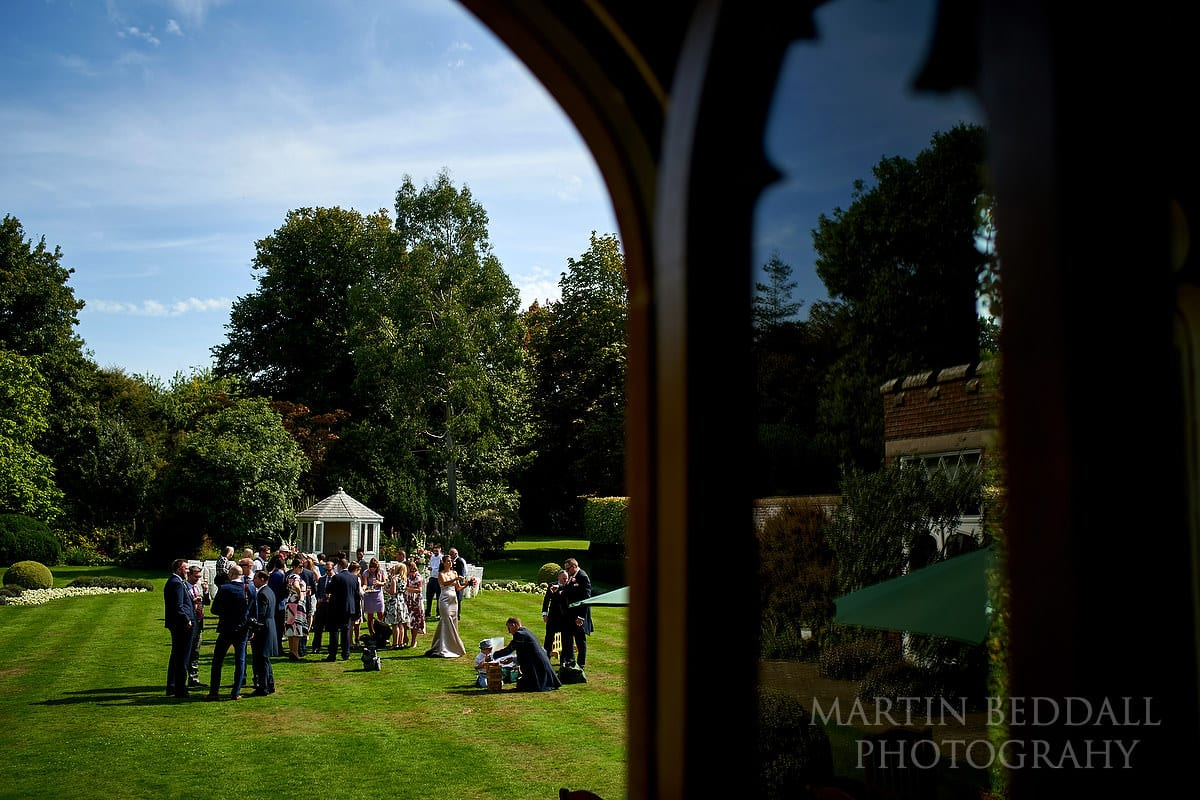 Horsted Place wedding day