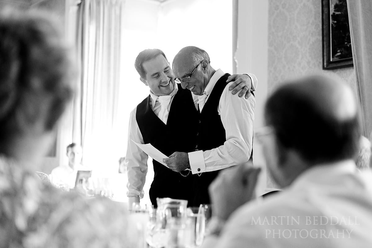 Horsted Place wedding speeches