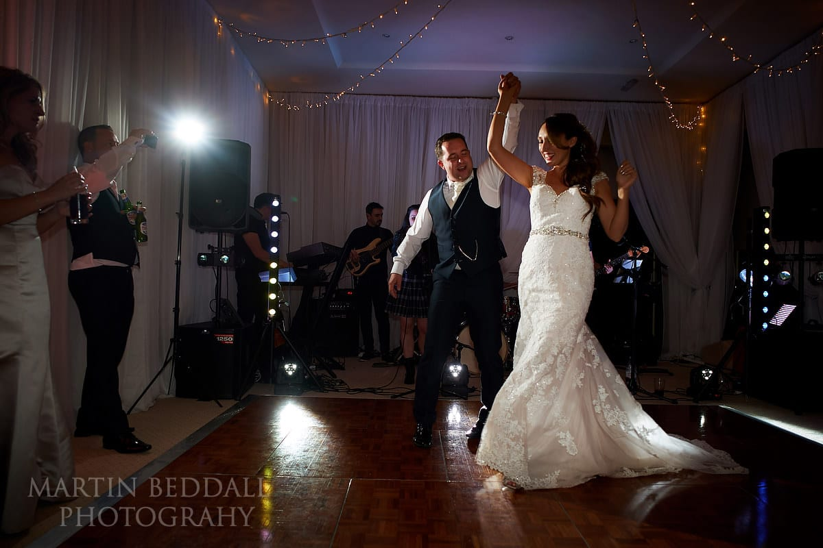 Horsted Place first dance