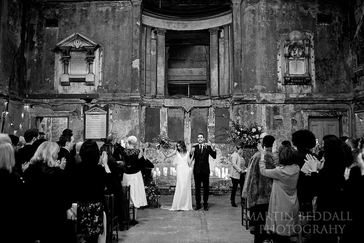 Married at the Asylum Chapel