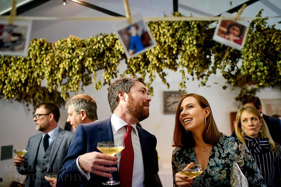 Gate St wedding guests