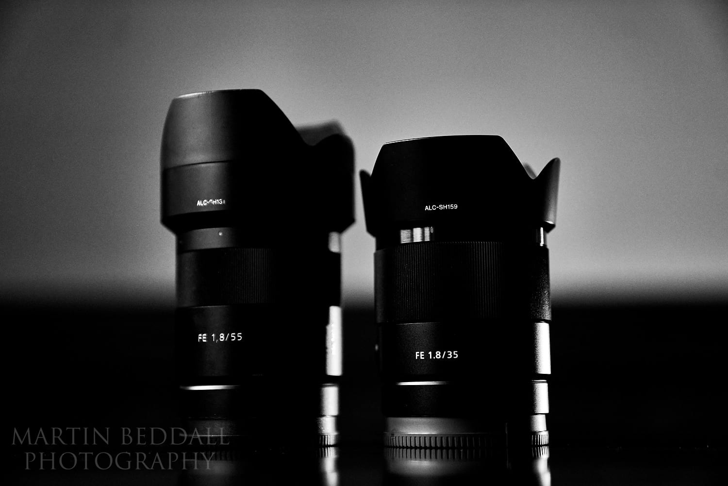 Sony 55mm and 35mm lenses