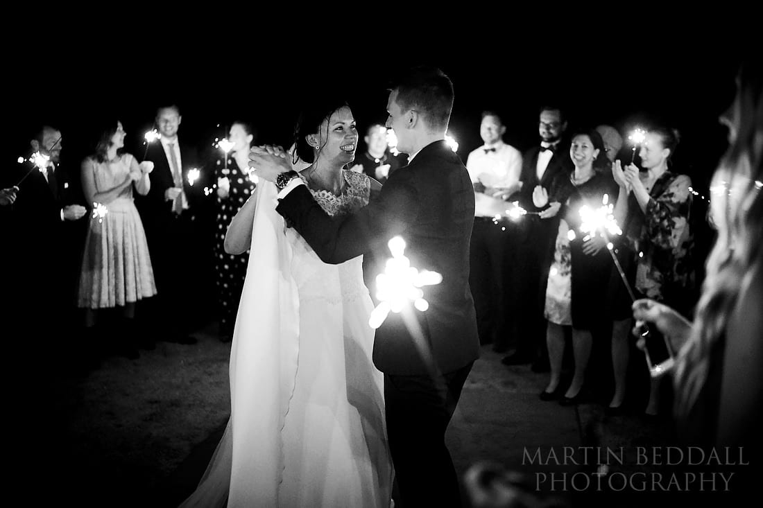 Midnight first dance at wedding in Denmark with Sony A9
