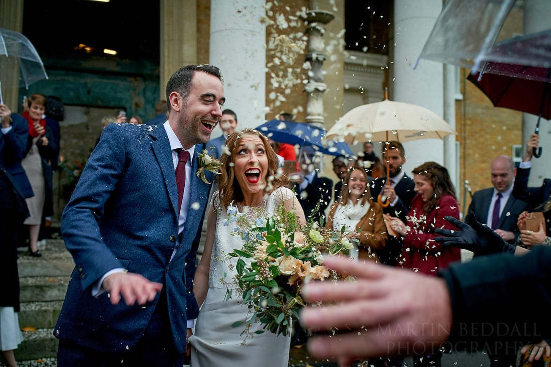 Confetti at Asyleum chapel with Sony A9