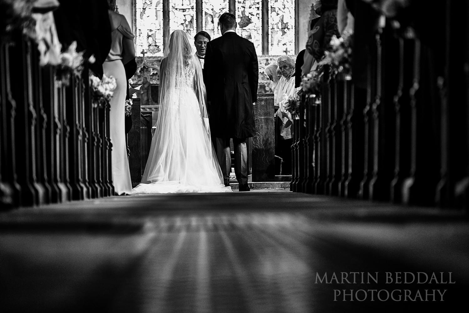 St Michael's church wedding ceremony in East Sussex