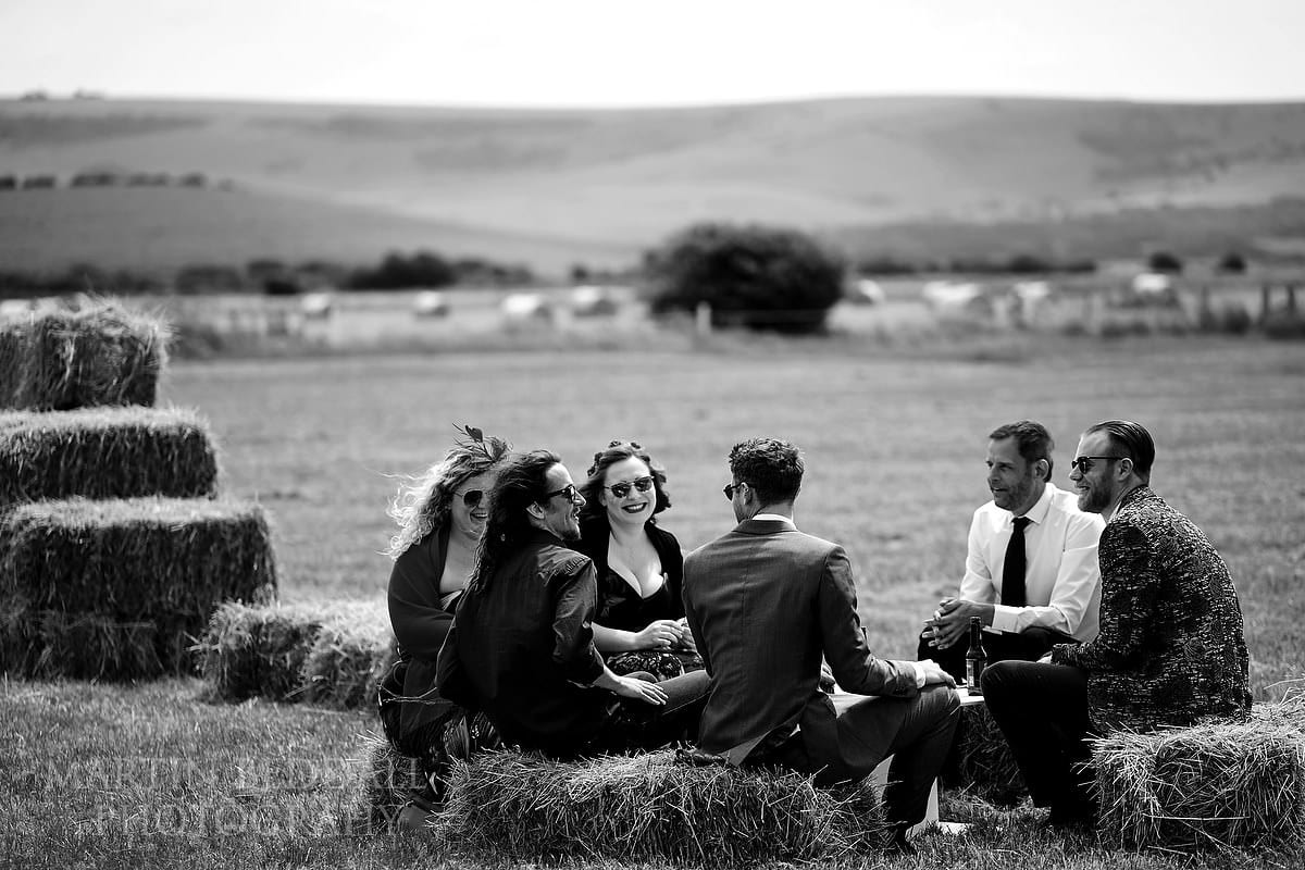 The Party Field wedding