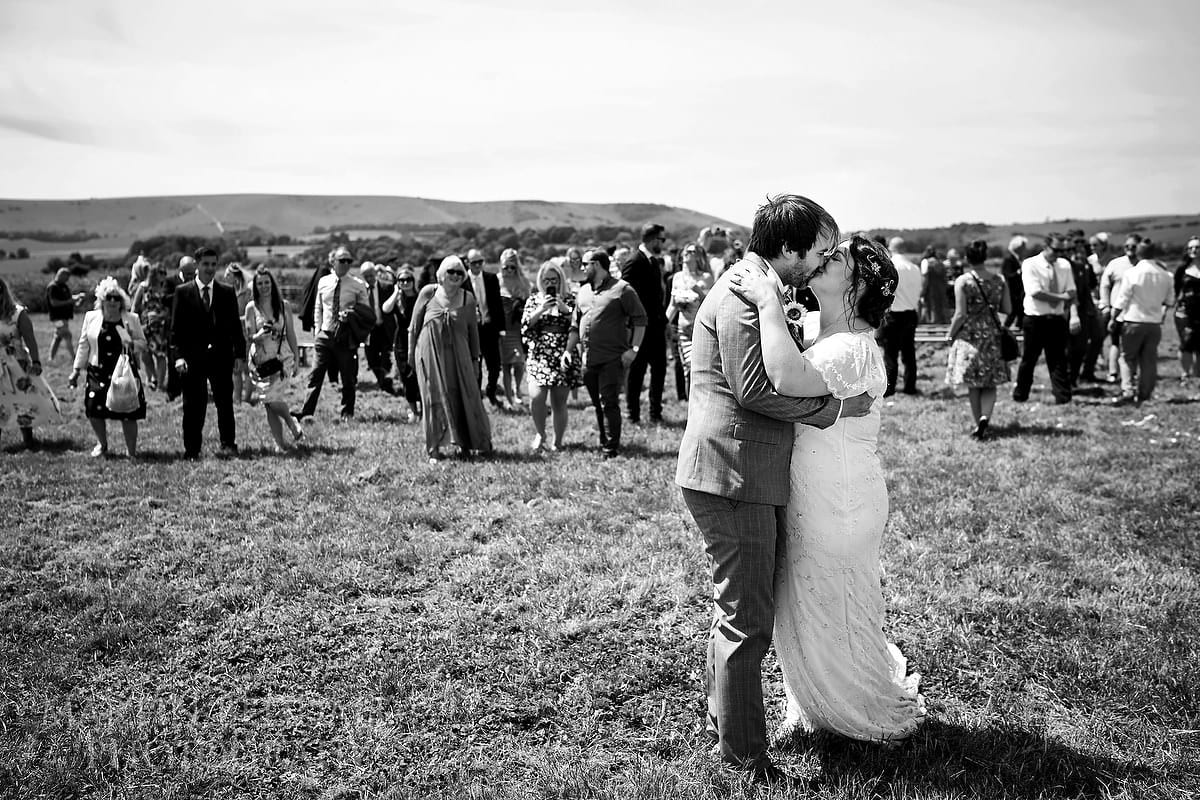 Wedding at The Party Field